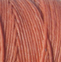 Waxed Irish Linen - 2 ply - Salmon (10 yds)