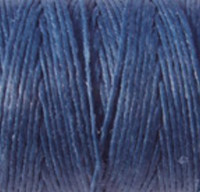 Waxed Irish Linen - 2 ply - Royal Blue (10 yds)