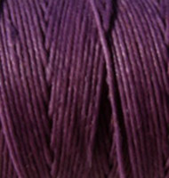 Waxed Irish Linen - 2 ply - Plum (10 yds)