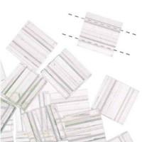 Miyuki Tila Beads, Transparent Crystal 10 grams