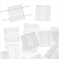 Miyuki Tila Beads, Transparent Crystal Matte 10 grams