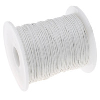 UnCommon Artistry 1mm Waxed Cotton Cord White