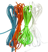 UnCommon Artistry Faux Suede Leather Cord Variety Pack, Tropical Mix