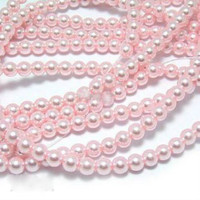UnCommon Artistry Glass Pearl Beads 200pcs 6mm - Baby Pink