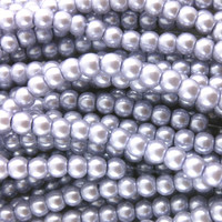 UnCommon Artistry Glass Pearl Beads 200pcs 4mm - Lilac