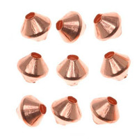 Genuine Copper Bicone Beads 4.8mm (50)