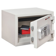 One Hour Fire and Water Safe, 0.53 ft3, 16-1/2 x 14 x 11-3/4, White