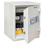 Two Hour Fire and Water Safe, 1.85 ft3, 19 2/3 x 18 1/2 x 24, White