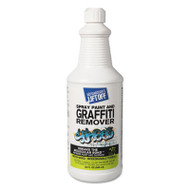 4 Spray Paint Graffiti Remover, 32oz, Bottle, 6/Carton
