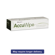 AccuWipe Recycled One-Ply Delicate Task Wipers, 15 x 16 7/10, White, 140/Box