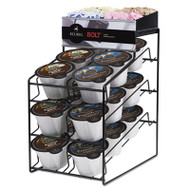 Bolt Pack Wire Rack, Black, 15 x 10 3/4 x 18 1/2