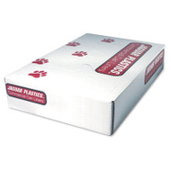 Low-Density Can Liner, 40 x 46, 40-45 gal, 1.1 Mil, Gray, 100/Case
