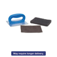 "Griddle Pad Holder Kit, 4"" x 5 1/4"", Blue, 10/Carton"