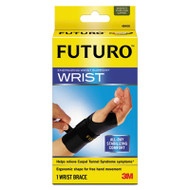 "Energizing Wrist Support, S/M, Fits Right Wrists 5 1/2""-6 3/4"", Black, 12/Carton"