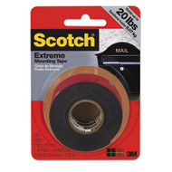 "Extreme Mounting Tape, 1"" x 60"", Black"