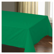 "Cellutex Table Covers, Tissue/Polylined, 54"" x 108"", Jade Green, 25/Carton"