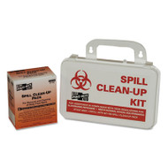 BBP Spill Cleanup Kit, 7 1/2 x 4 1/2 x 2 3/4, White