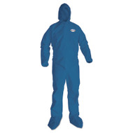 A20 Breathable Particle Protection Coveralls, X-Large, Blue, 24/Carton