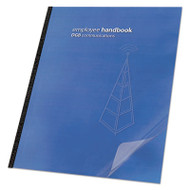 Clear View Presentation Binding System Cover, 11-1/4 x 8-3/4, Clear, 25/Pack