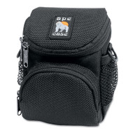 AC165 Digital Camera Case, Ballistic Nylon, 4 1/4 x 4 x 5 1/2, Black