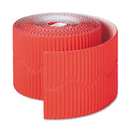 "Bordette Decorative Border, 2 1/4"" x 50' Roll, Flame Red"
