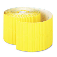 "Bordette Decorative Border, 2 1/4"" x 50' Roll, Canary"