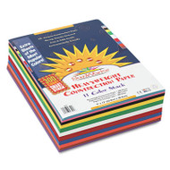 Construction Paper Smart-Stack, 58 lbs., 9 x 12, Assorted, 300 Sheets/Pack