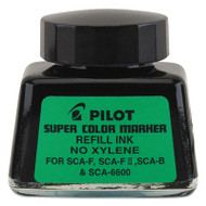 Jumbo Marker Refill Ink, For Permanent Markers, 1 oz Ink Bottle, Black