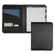 Professional Padfolio, Storage Pockets/Card Slots, Writing Pad, Black
