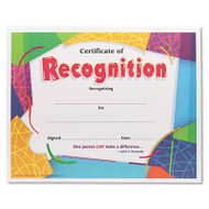 Certificate of Recognition Awards, 8-1/2 x 11, 30/Pack