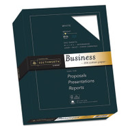 25% Cotton Business Paper, 20lb, 95 Bright, 8 1/2 x 11, 500 Sheets