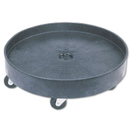 Brute Container Universal Drum Dolly, 500lb, Black