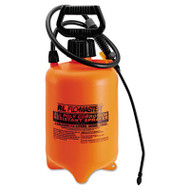 Acid-Resistant Sprayer, Wand w/Nozzle, 2gal, Polyethylene, Orange/Black
