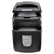Stack-and-Shred 100M Auto Feed Micro-Cut Shredder, 100 Sheet Capacity