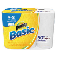 Basic Select-a-Size Paper Towels, 5 9/10 x 11, 1-Ply, 95/Roll, 6 Roll/Pack