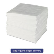 ENV MAXX Enhanced Oil Sorbent Pads, .24gal, 15w x 19l, White, 100/Bundle