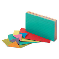 Extreme Index Cards, 3 x 5, Vivid Assorted, 100/Pack