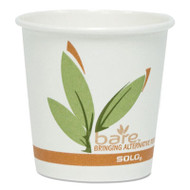 Bare Eco-Forward Recycled Content PCF Hot Cups, 4 oz, 1,000/Carton