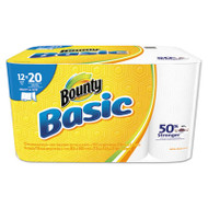 Basic Select-a-Size Paper Towels, 5 9/10 x 11, 1-Ply, 119/Roll, 12/Carton