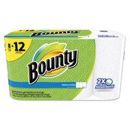 Select-a-Size Perforated Roll Towels, 11 x 5.9, White, 95 Sheets/Roll, 8/Pack