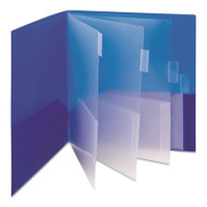Campus.org Ten-Pocket Subject Folder, 11 x 8 1/2, Assorted, 2/Pack