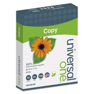100% Recycled Copy Paper, 92 Brightness, 20lb, 8-1/2 x 11, White, 5000 Shts/Ctn