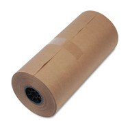 """High-Volume Wrapping Paper, 40lb, 18""""w, 900'l, BN, 1/Pack"""
