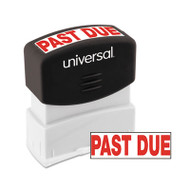 Message Stamp, PAST DUE, Pre-Inked One-Color, Red