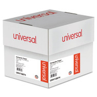Multicolor Paper, 4-Part Carbonless, 15lb, 9-1/2 x 11, Perforated, 900 Sheets