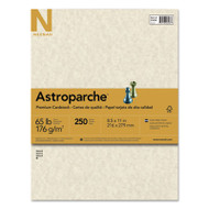 Astroparche Specialty Card Stock, 65lb, 8 1/2 x 11, Natural, 250 Sheets