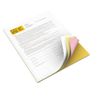 Revolution Digital Carbonless Paper, 8 1/2 x11, Wh/Can/Pink/Gldrod, 5,000 Sheets