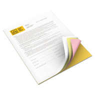 Vitality Multipurpose Carbonless Paper, 8 1/2 x 11, Goldenrod/Pink/Canary/White