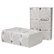 Artisan Folded Towels, Multi-Fold,9 1/2x9 1/8, White, 250/Pack,12 Pack/Carton