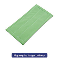 Microfiber Cleaning Pad, Green, 6 x 8, 5/Carton